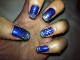 rosebud shellac with milkyway lecente glitter beauty pinterest