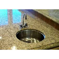 round stainless steel kitchen sink 17 inch stainless steel undermount single bowl kitchen bar