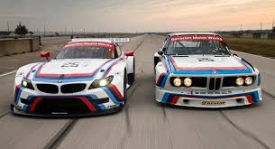 bmw car racing bmw z4 gtlm race car gets iconic livery for 12 hours of sebring