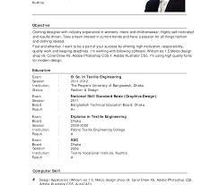 cv resume format resume template skills sle format in doc for