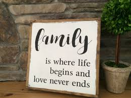 family wood sign home decor family wood sign farmhouse wall decor wood sign sayings
