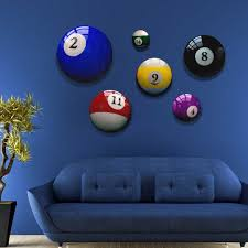 pool table wall art pool ball art prints cool unique wall decor using round canvases