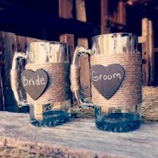 rustic mugs for bride and groom rustic mugs for bride and groom