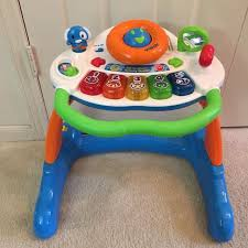 sit to stand activity table find more vtech sit to stand activity walker english spanish