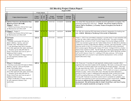 8 project status report template excel expense report