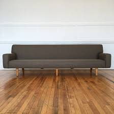 Mid Century Rare Danish Four Seater APS Sofa By Hans Wegner For - Danish sofas