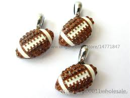 rhinestone bracelet charms images 2018 diy rhinestone american football hang pendant charms 15x15mm jpg
