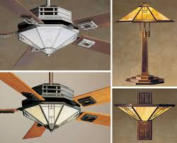 Craftsman Style Ceiling Light Craftsman Style Ceiling Fans With Regard To Mi 12457