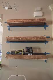 How To Make Wall Shelves Diy Floating Shelves