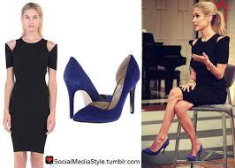 social media style kristin cavallari u0027s black cutout dress and