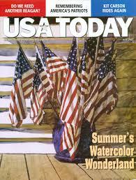 Magazine Usa Usa Today Magazine Barbara Ernst Prey