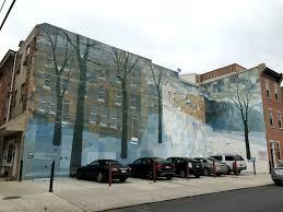 mural mile french twist d c philadelphia s mural mile winter crystal snowscape by david guinn