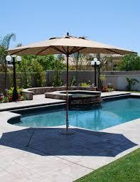 Treasure Garden Patio Umbrellas by Decorating Enchanting Patio Design With Blue Garden Treasures