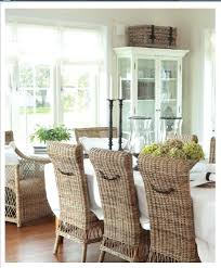 Dining Room Wicker Chairs White Wicker Dining Table And Chairs Dining Room Wicker Chairs