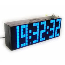 lighted digital wall clock adding elegance to your room using lighted digital wall clock