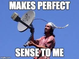 Tin Foil Hat Meme - tinfoil man imgflip