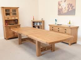original modern circular oak dining table oak dining table by
