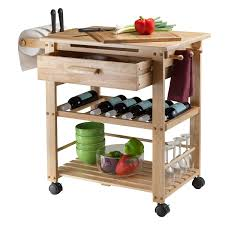 Furniture Kitchen Islands Amazon Com Winsome Wood Finland Kitchen Cart Kitchen Islands