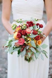 wedding flowers fall seasonal bouquets for a fall wedding brides