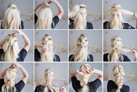 hair tutorial pull through chunky braid plait grace braver