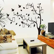 online get cheap modern window frames aliexpress com alibaba group large family wall stickers home decor picture photo frame tree for living rooms bedroom window decoration