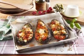 cuisiner les aubergines au four recette de aubergines farcies à la ricotta au four il gusto italiano