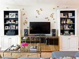 Bar Mirror With Shelves by Shelves Around Tv Design Ideas