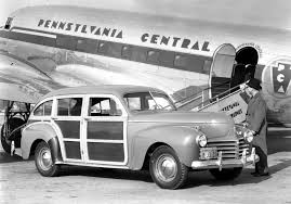chrysler town and country 1941 triple score station wagon