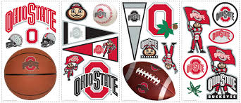 Ohio State Home Decor by Ohio State Buckeyes Wall Stickers Wall2wall