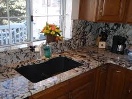 granite kitchen backsplash height granite backsplash pearl lumi white serra