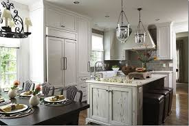 distressed kitchen islands distressed kitchen island transitional kitchen wolter