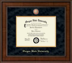 frames for diplomas oregon state diploma frames church hill classics