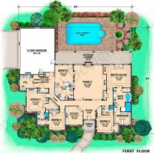 los rios ranch house plan 4000 sq ft house plans