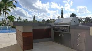 out door kitchen ideas stainless steel stove for modern outdoor kitchen ideas with stylish