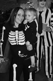 how to make a pregnant skeleton costume for halloween