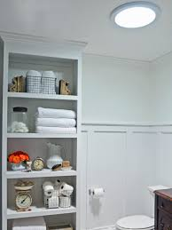 Bathroom Racks And Shelves by 8 Ways To Tackle Storage In A Tiny Bathroom Hgtv U0027s Decorating