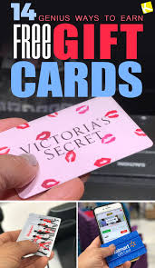 free gift cards 14 genius ways to earn free gift cards the krazy coupon