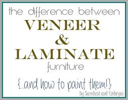 Can I Paint Over Laminate Kitchen Cabinets The Difference Between Laminate And Wood Veneer Furniture