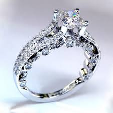 cute wedding rings images Gold princess cut engagement rings jpg