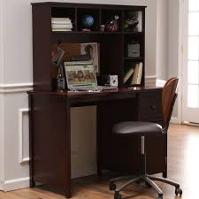 Kids Computer Desk And Chair Set by Piper Desk With Optional Hutch Set Espresso Hayneedle