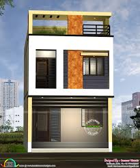 Home Design In Tamilnadu Style 17 Feet Width House Design Kerala Home Design Bloglovin U0027