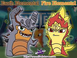 slugterra elementals earth fire bajo terra