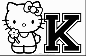 wonderful hello kitty christmas coloring pages with hello kitty