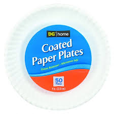 paper plates home paper plates heavy duty 50 ct