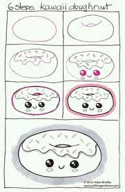 how to draw a kawaii cute kitty 3 art howto pinterest