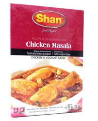 x cuisine shan chicken masala curry recipe seasoning mix indian cuisine spice