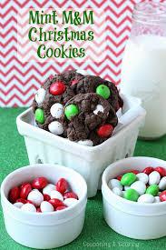 tobins u0027 tastes mint m u0026m chocolate christmas cookies