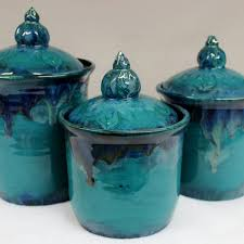 wild blue fire wild crow farm wild blue fire moroccan kitchen canister set with lake county diamonds