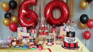 60th birthday party ideas 60th birthday party ideas for and