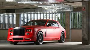 roll royce red rolls royce phantom mansory full hd wallpaper and background